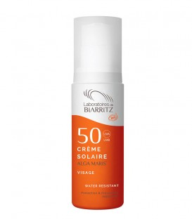 Crema Solare Viso Bio SPF 50 - Alga Maris - Laboratoires de Biarritz