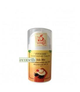 Crema Solare Viso Colorata SPF 30 Fitocose
