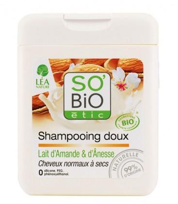 Shampoo Delicato - Latte di Mandorla e d'Asina - SO'BiO étic