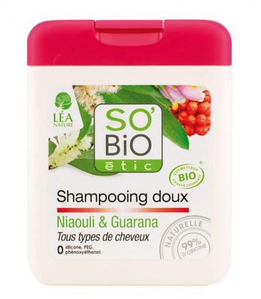 Shampoo Delicato - Niaouli e Guaranà - SO'BiO étic