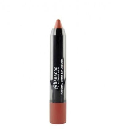 Shiny Lip Colour - Rusty Rose - Benecos