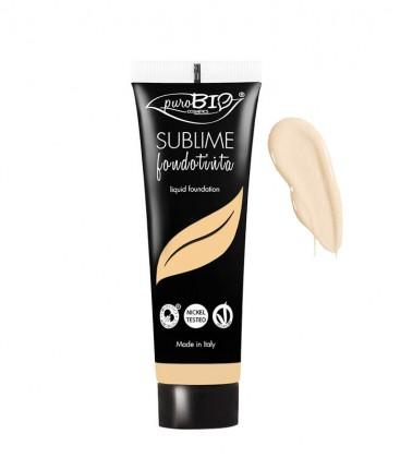 Fondotinta Fluido Sublime - 01 -  PuroBio Cosmetics