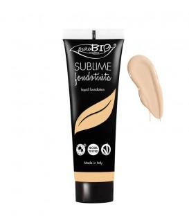 Fondotinta Fluido Sublime - 02 -  PuroBio Cosmetics