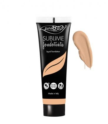 Fondotinta Fluido Sublime - 04 -  PuroBio Cosmetics