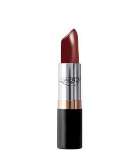 Lipstick 08 Rosso Porpora - PuroBio Cosmetics