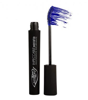 Mascara Allungante Impeccable - Blu - PuroBio Cosmetics