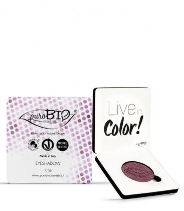 Ombretto Compatto Shimmer 06 - Viola - PuroBio Cosmetics