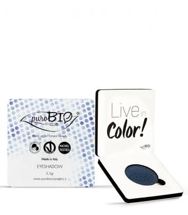 Ombretto Compatto 07 - Blu - PuroBio Cosmetics