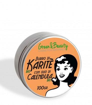 Burro di Karité con Olio di Calendula Bio - Green & Beauty