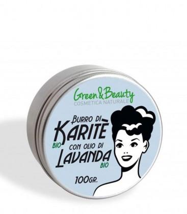 Burro di Karité con Olio di Lavanda Bio - Green & Beauty