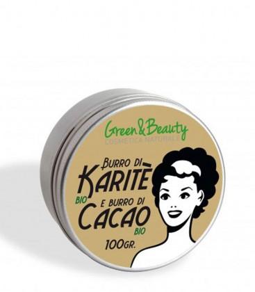 Burro di Karité e Burro di Cacao Bio - Green & Beauty