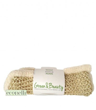 Guanto in Agave e Cotone - Green & Beauty
