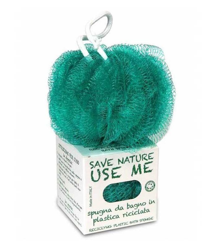 Spugna in Plastica Riciclata  Green & Beauty