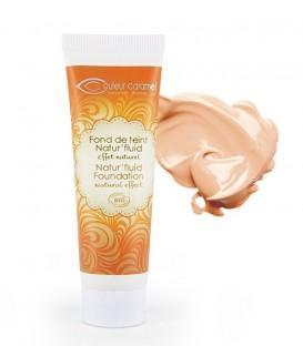 Fondotinta Fluido Natur'fluid - 02 Beige Naturel - Couleur Caramel