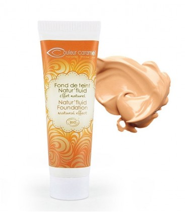 Fondotinta Fluido Natur'fluid - 03 Beige Abricot - Couleur Caramel