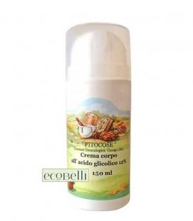 Crema Corpo all'Acido Glicolico 12% Fitocose