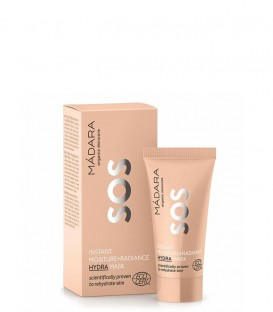 SOS Maschera Viso Idratante e Illuminante Moisture + Radiance Minitaglia Madara Cosmetics