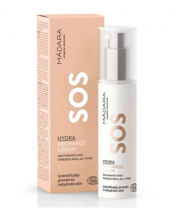 SOS Crema Viso Hydra Recharge Cream Madara Cosmetics