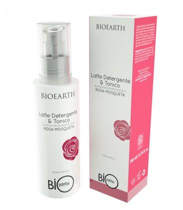 Latte Detergente & Tonico alla Rosa Mosqueta bio - Bioearth