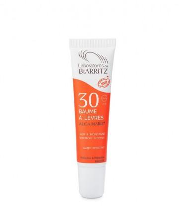 Balsamo Labbra Bio Protezione Solare SPF 30 - Alga Maris - Laboratoires de Biarritz