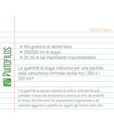 Ricetta Henné Nero - Phitofilos