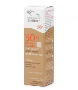 Crema Solare Viso Colorata Bio SPF 30 Claire - Alga Maris - Laboratoires de Biarritz
