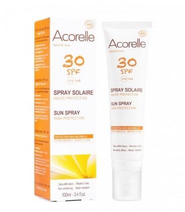 Spray Solare Bio SPF 30 - Alta protezione - Acorelle