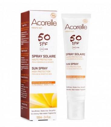 Spray Solare Bio SPF 50 - Alta protezione - Acorelle