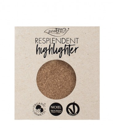 Highlighter Resplendent Refill - 03 Rame - PuroBio Cosmetics