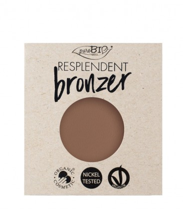Bronzer Resplendent Refill - 03 Marrone Beige - PuroBio Cosmetics