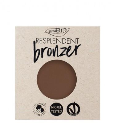 Bronzer Resplendent Refill - 04 Marrone Fango - PuroBio Cosmetics