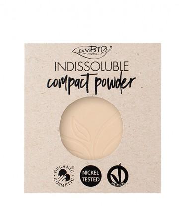 Cipria Indissoluble Bio Refill - 02 - PuroBio Cosmetics