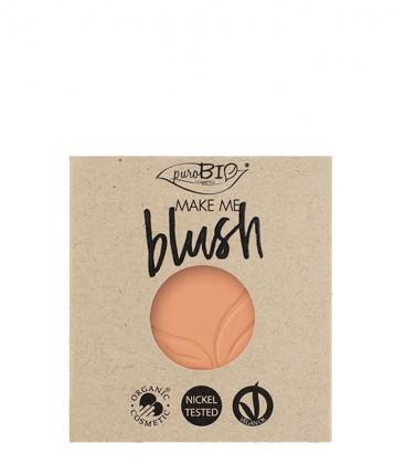 Blush Refill N. 3 - Pesca Satinato - PuroBio Cosmetics