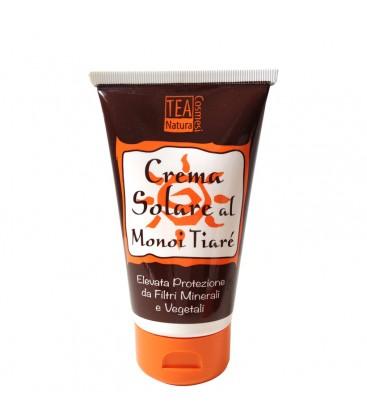 Crema Solare al Monoi Tiaré Alta Protezione Tea Natura