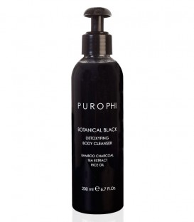 Botanical Black - Detoxifying Body Cleanser - Purophi