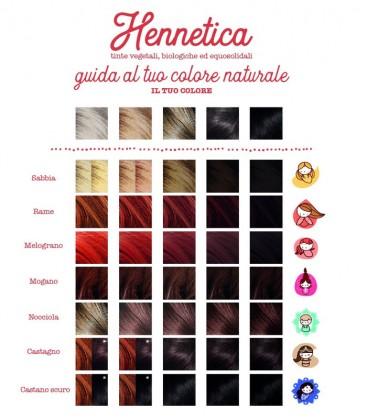 Scheda Colore Hennetica - La saponaria