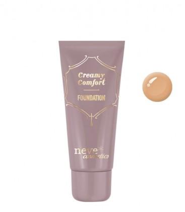 Fondotinta Creamy Comfort Dark Warm - Neve Cosmetics