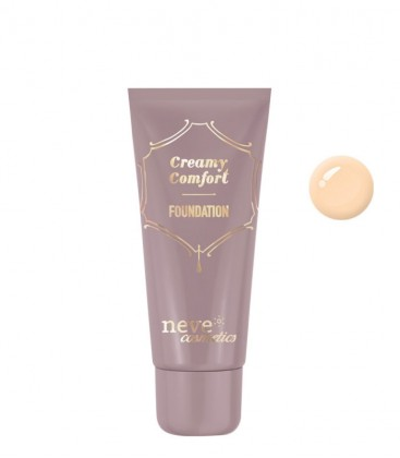 Fondotinta Creamy Comfort Light Warm - Neve Cosmetics