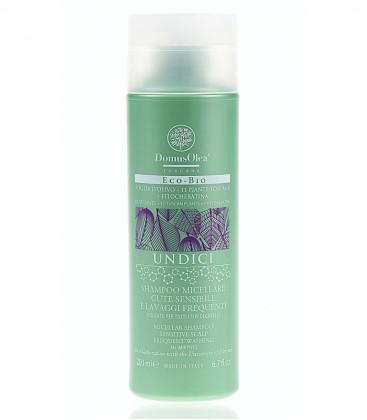 Shampoo Micellare Cute Sensibile e Lavaggi Frequenti - Linea Undici - Domus Olea Toscana