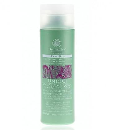 Shampoo-Crema Micellare Ristrutturante Anti-Età - Linea Undici - Domus Olea Toscana