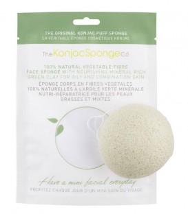Konjac Sponge con Argilla Verde - The Konjac Sponge Company