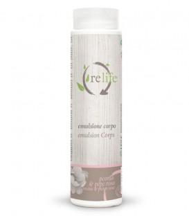 Emulsione Corpo ReLife Peonia e Pepe Rosa - Bema