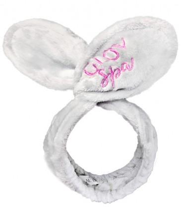 Glov Bunny Ears Headband Grey