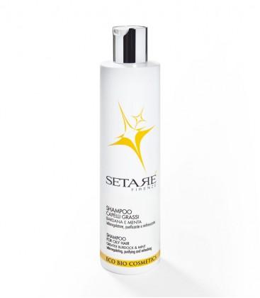 Shampoo Capelli Grassi - Setaré