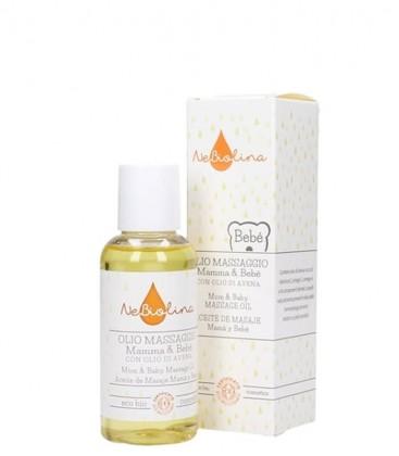 Olio da Massaggio Mamma e Bebè - Nebiolina