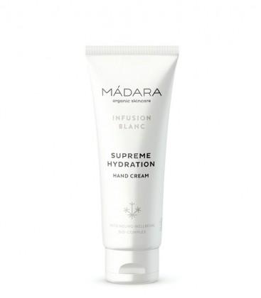 Infusion Blanc - Crema Mani Idratazione Suprema - Madara