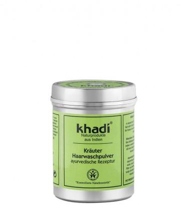 Polvere Detergente alle Erbe per Capelli - Khadi
