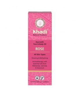 Olio alla Rosa Viso-Corpo - Khadi