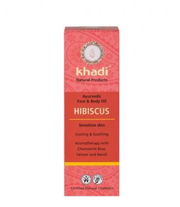 Olio all'Ibisco Viso-Corpo - Khadi