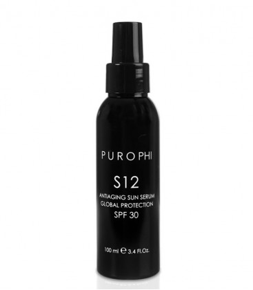 S12 Antiaging Sun Serum Global Protection SPF 30 - Purophi